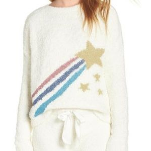New Nordstrom Make+Model Fuzzy Sweater Crop
